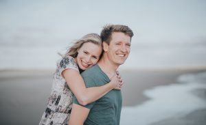 Fanø Island engagement: Jennifer and Martin