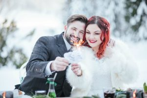 Winter wedding photo shoot at Javorova dolina – Maple valley